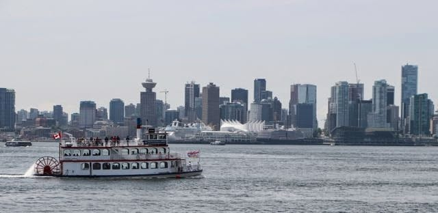 Vancouver skyline starting in Vancouver on West Coast tour.jpg