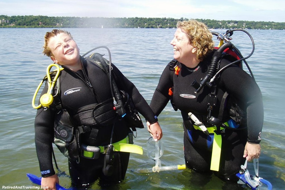 Free Resort Scuba Diving Try It Retired And Travelling
