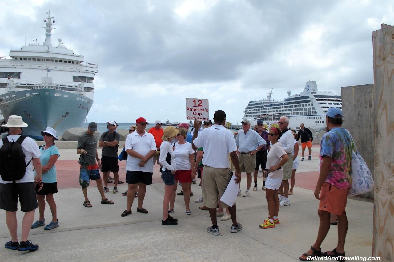 St Maarten Excursion on dock - St Maarten Yacht Racing.jpg
