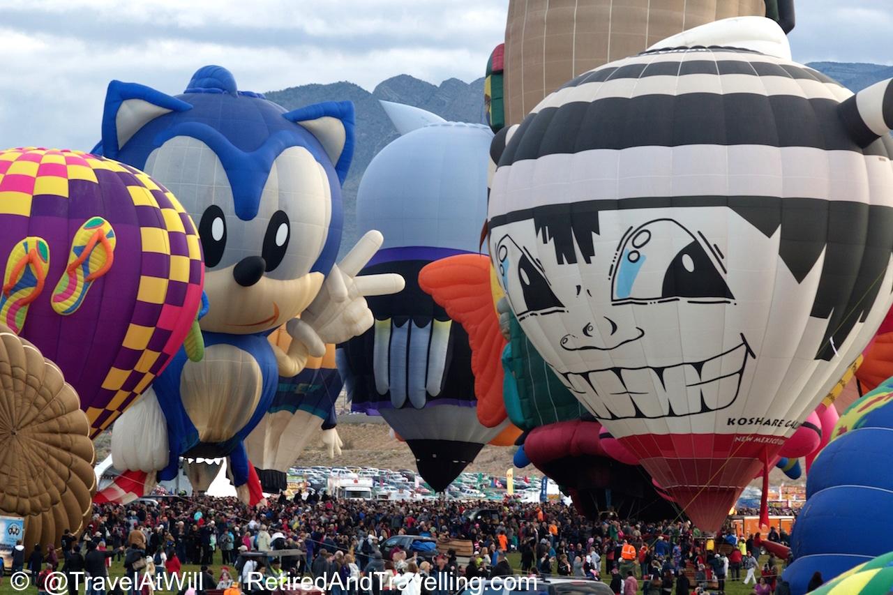 Balloon Crowds - Albuquerque Balloon Fiesta Colour.jpg