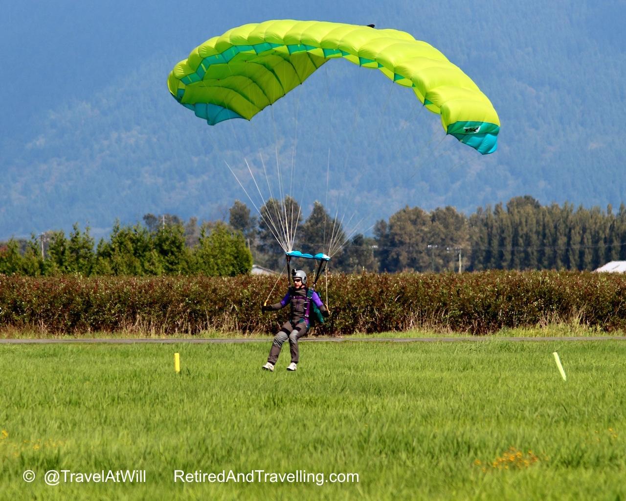 Skydivers Land - Skydiving In The Rear View Mirror.jpg