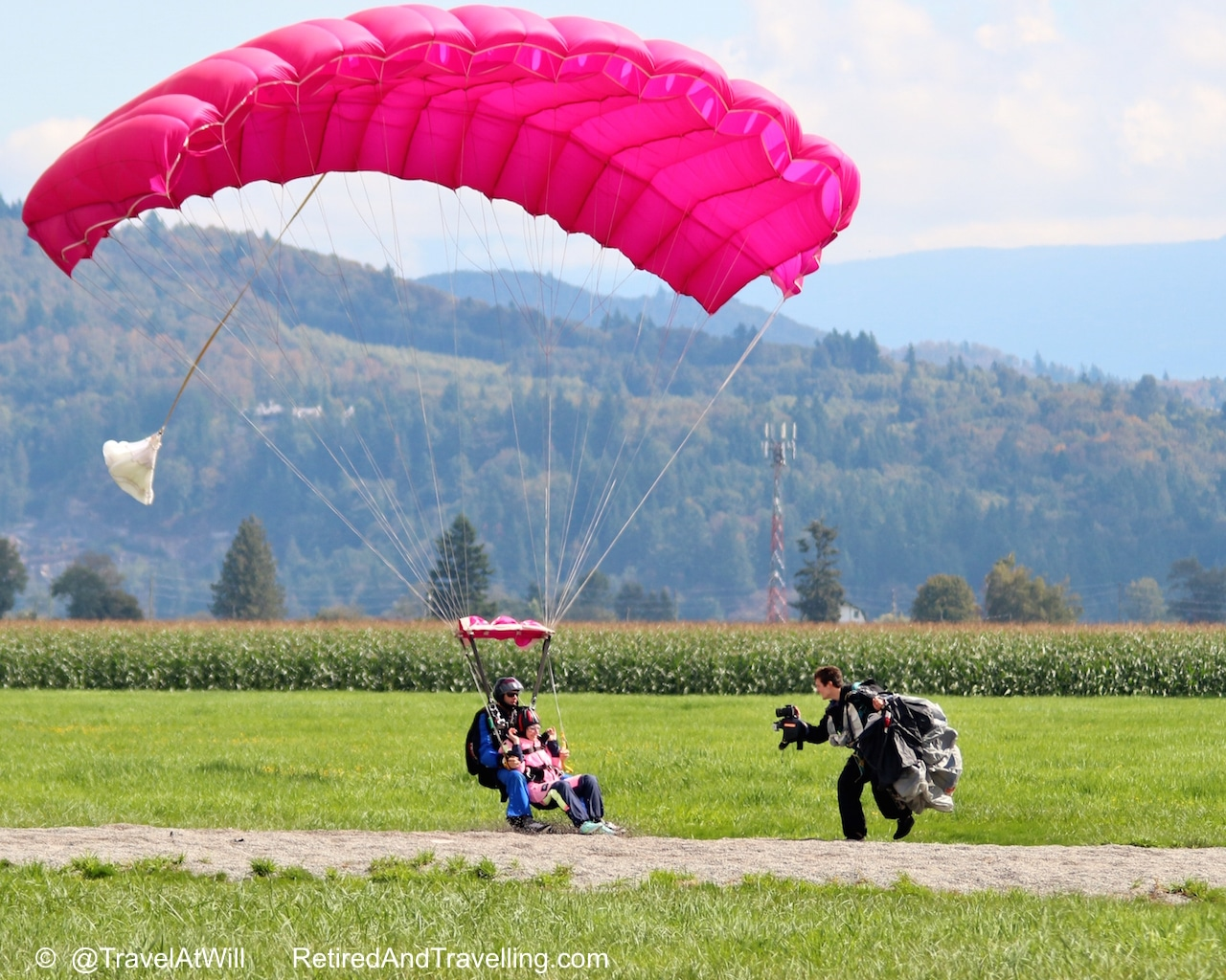 Skydivers Land - Skydiving In The Rear View Mirror.jpg