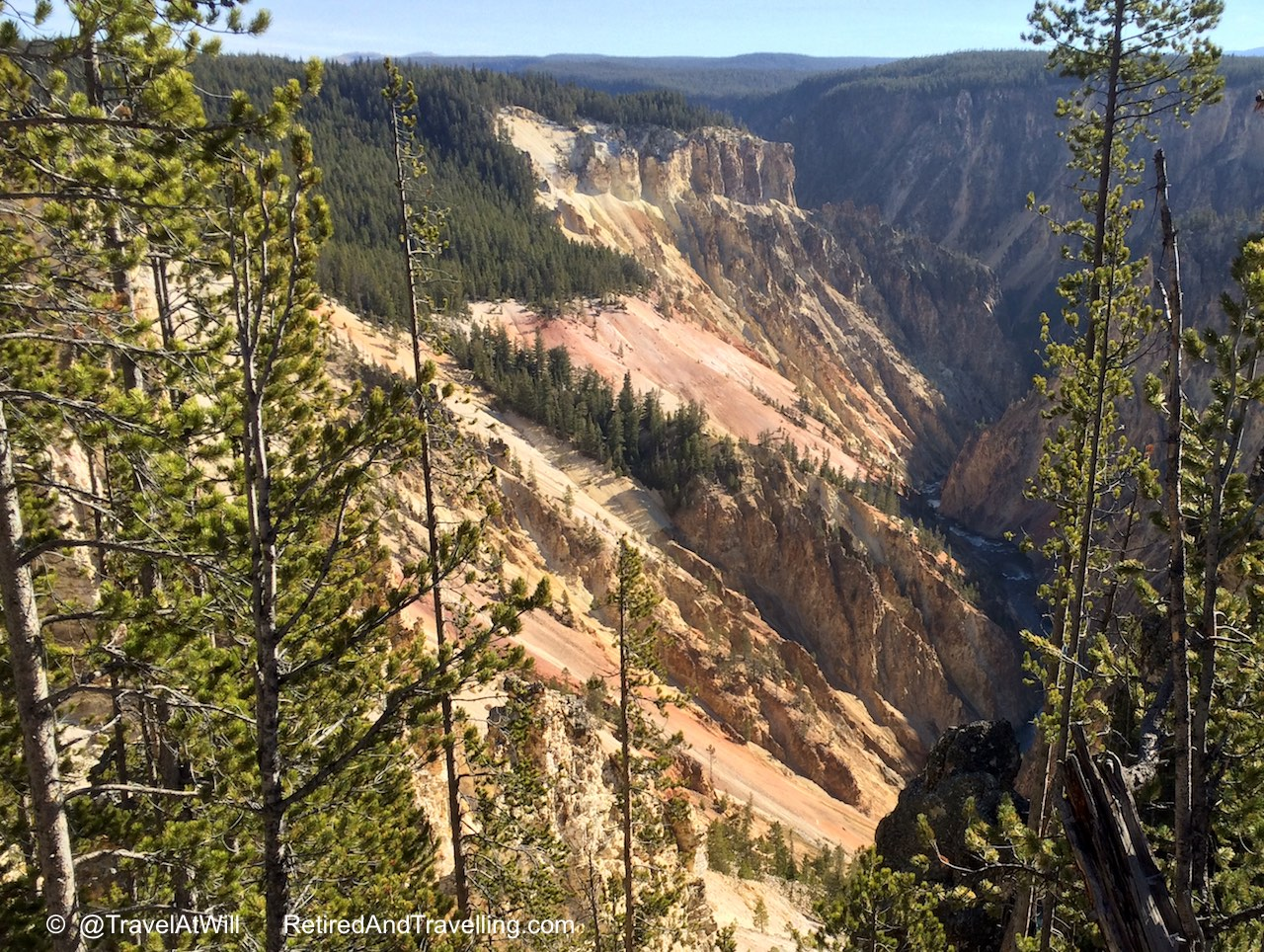 Canyon at Upper Falls - More Than Geysers in Yellowstone.jpg