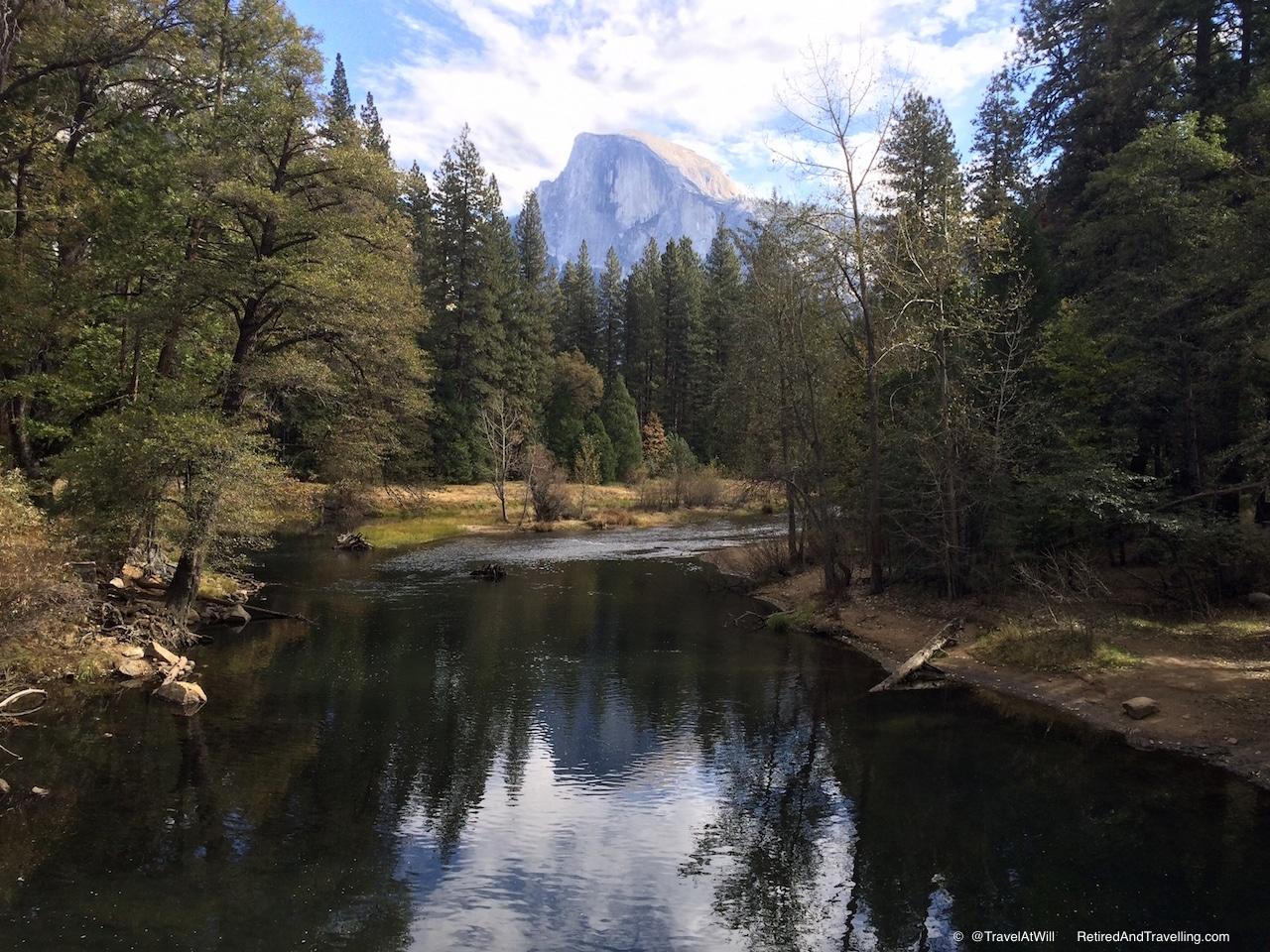 Yosemite Valley - Half Dome Reflection - Yosemite Detour.jpg
