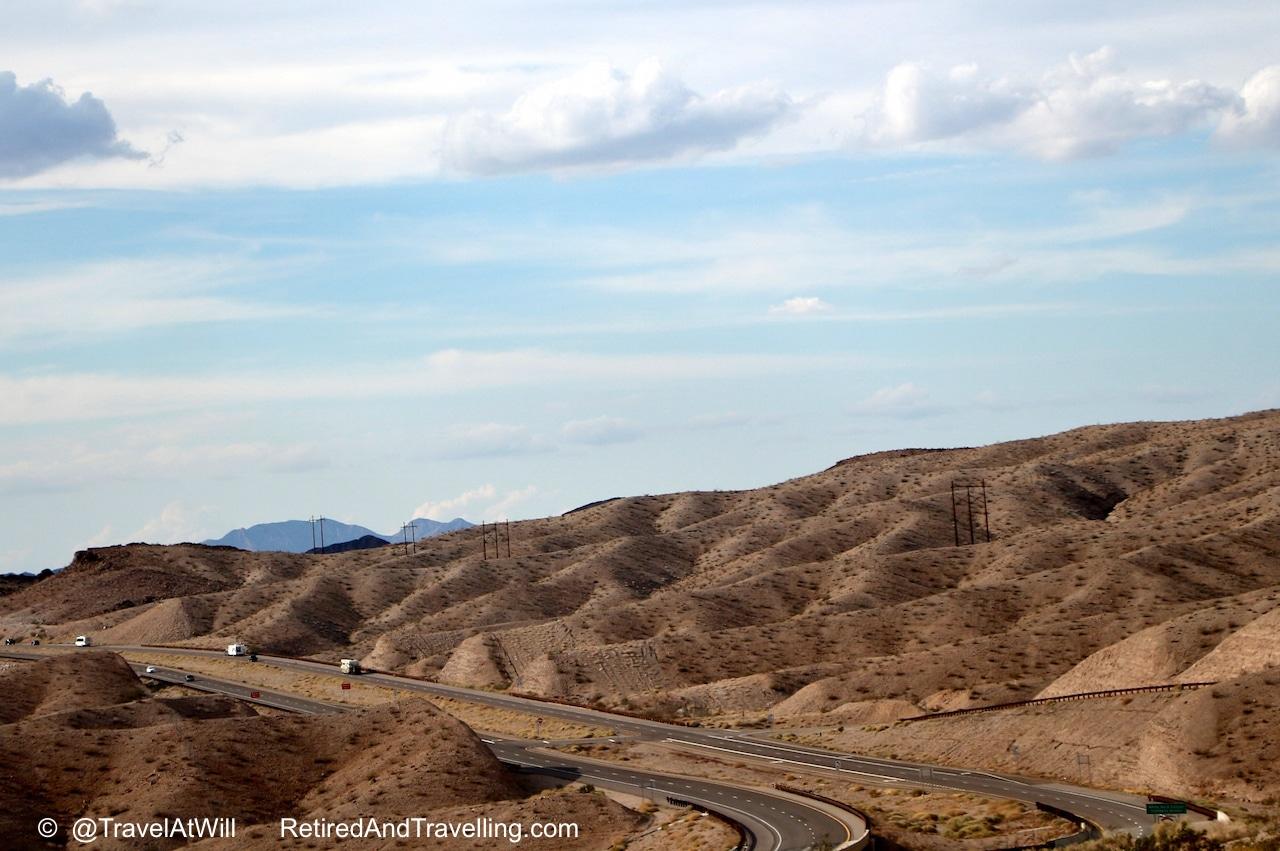 Desert Road on way to - Las Vegas glitter.jpg