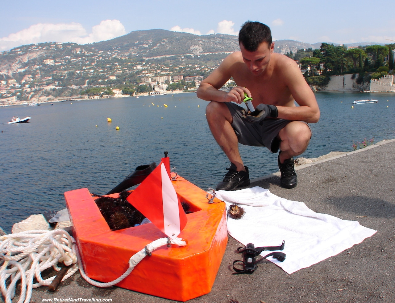 Villefranche scuba divers from Nice On The French Riviera.jpg