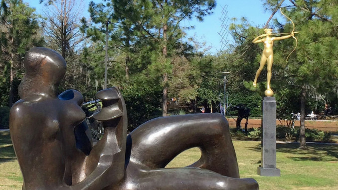 New Orleans Outdoor Sculpture Garden Retired And Travelling