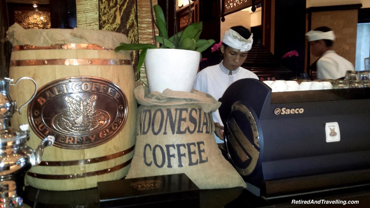 Coffee at Intercontinental Bali - Staying At Jimbaran Bay Bali.jpg
