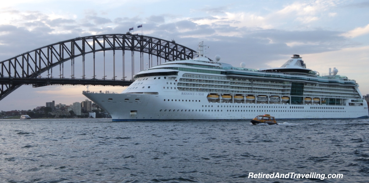 Cruise Ship Leaving - Sydney Water Views.jpg