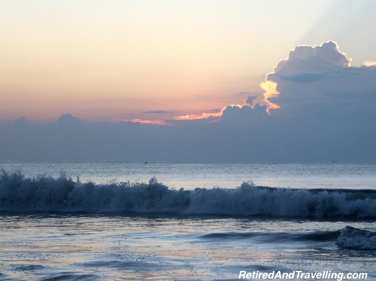 Sunset on the Beach - Staying At Jimbaran Bay Bali.jpg