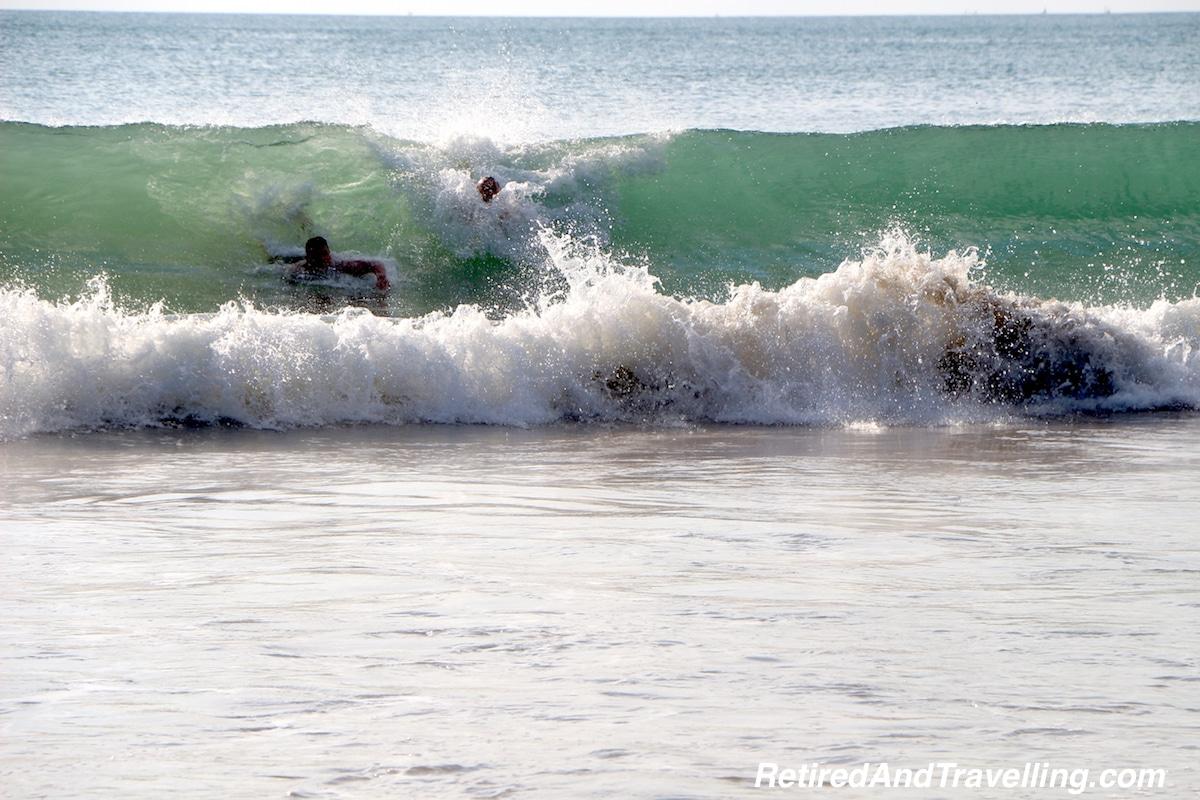 Beach Waves - Staying At Jimbaran Bay Bali.jpg