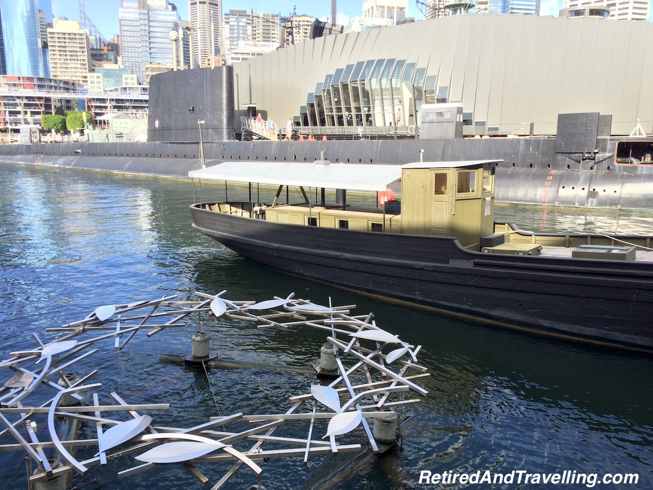 Maritime Museum Outside HHMS AE1 Memorial - Stay in Darling Harbour.jpg