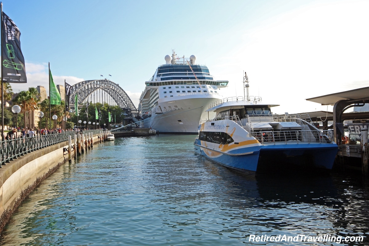 Cruise Ship in Dock - Sydney Water Views.jpg