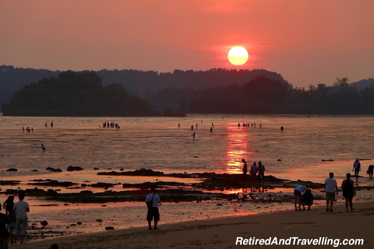 Sunset on Ao Nang Beach - Things To Do In Ao Nang Beach.jpg