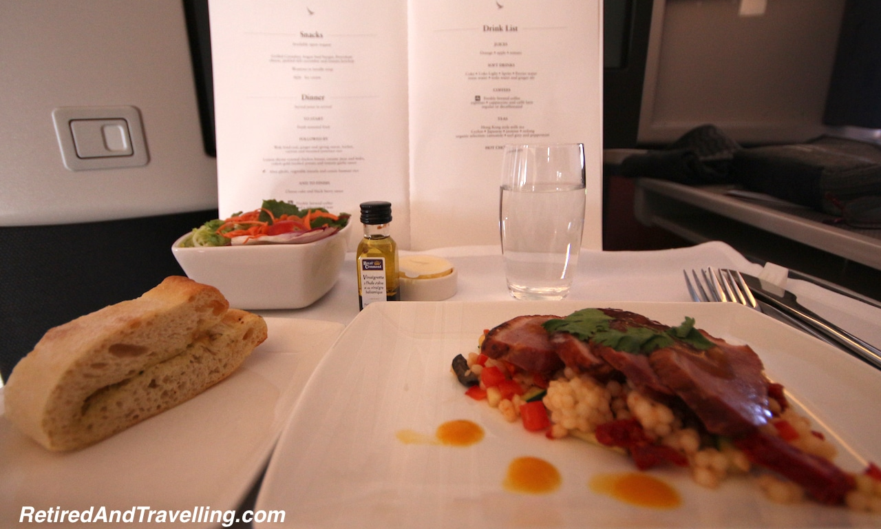 Cathay Pacific Business Class - Retired And Travelling