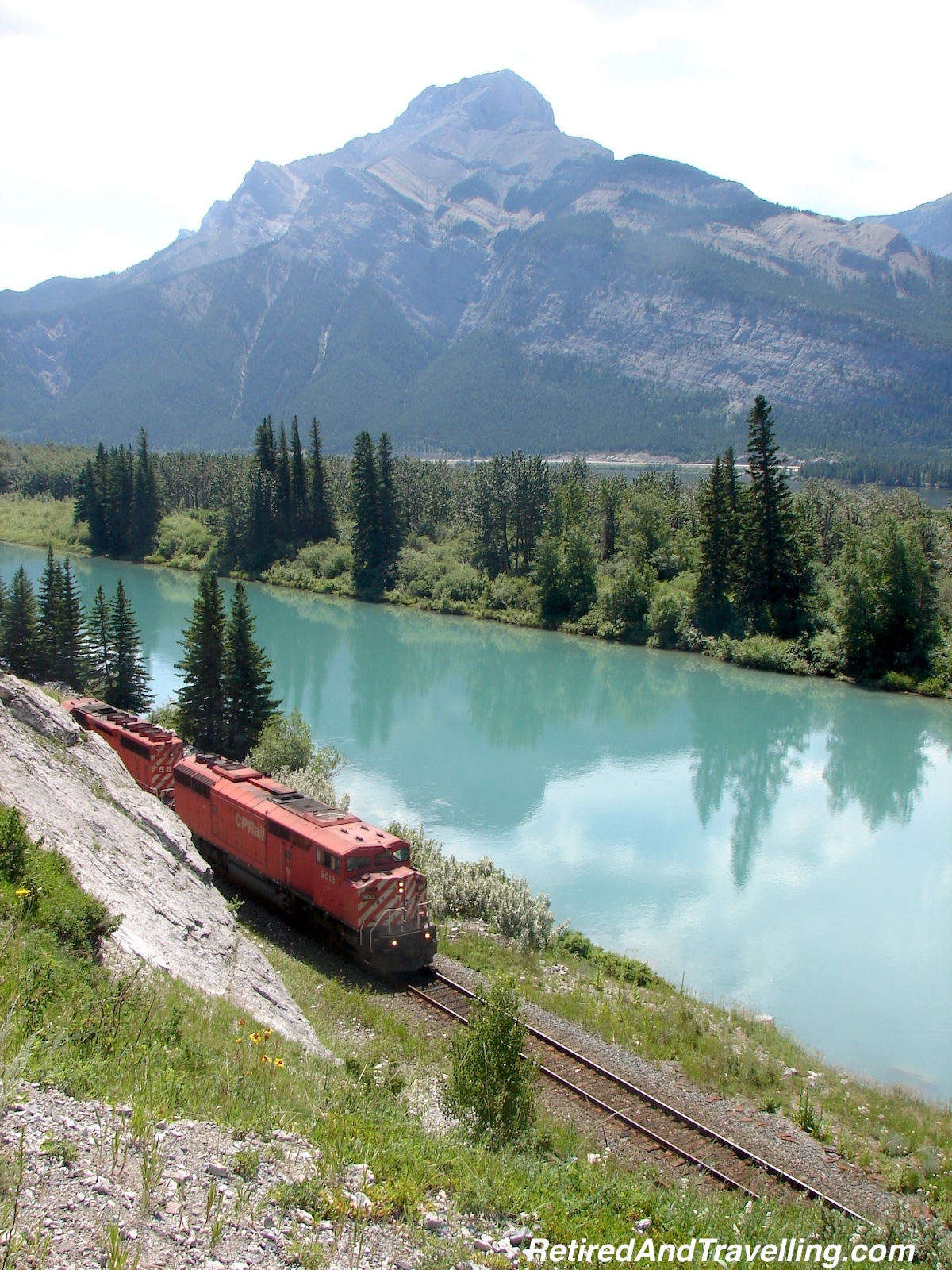Scenery - Canadian Rockies -  Via Rail Business Class.jpg