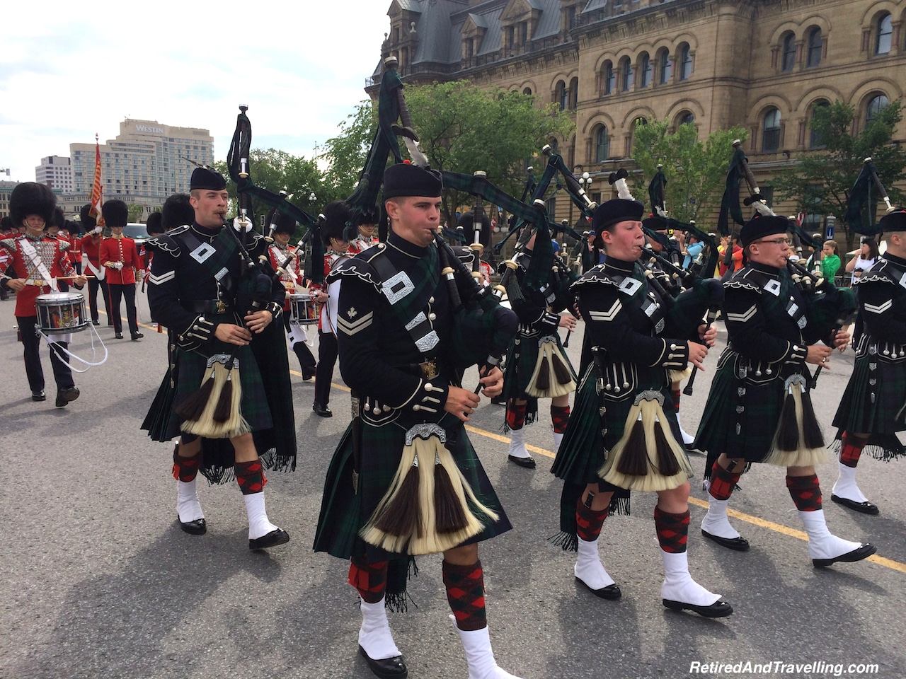 Changing of the Guard Marching Band - Parliament Hill in Ottawa.jpg