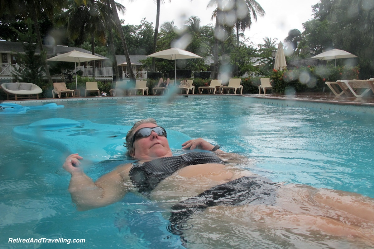 Sandals Halcyon Rain in the Pool - St Lucia For A Week.jpg