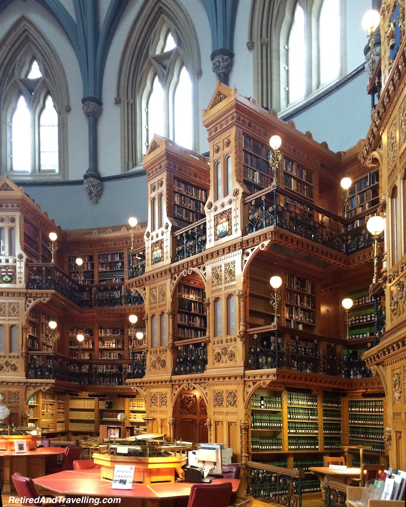 Library - House of Parliament - Parliament Hill in Ottawa.jpg