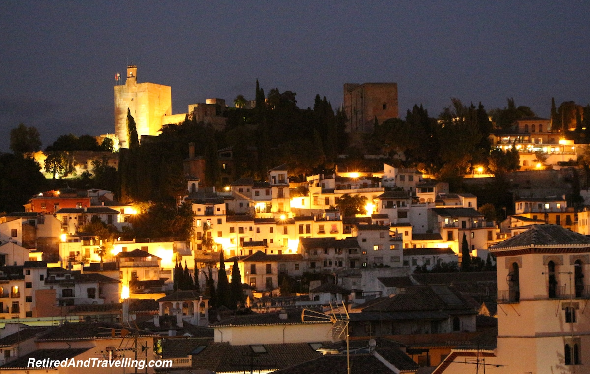 View of Alhambra at Night - Awesome Alhambra.jpg