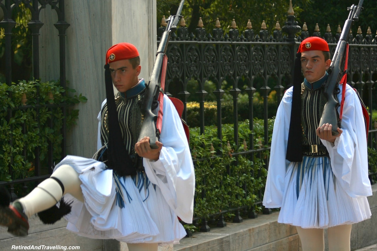 athens changing of the guard
