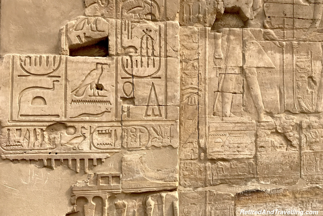 Hieroglyphics, stories and colour - Karnak Temple Day and Night.jpg