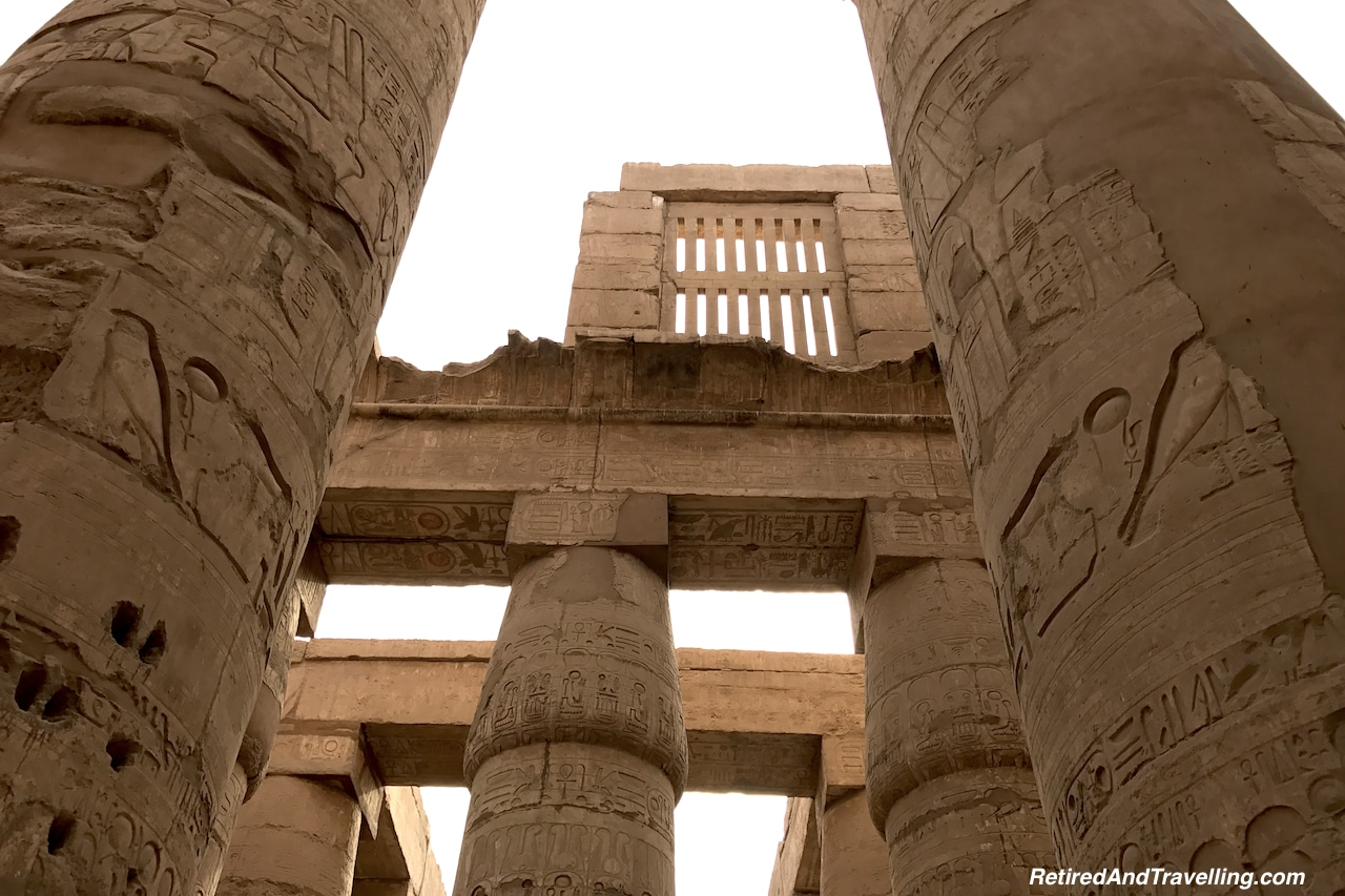 Hypo-Style Hall - Karnak Temple Day and Night.jpg