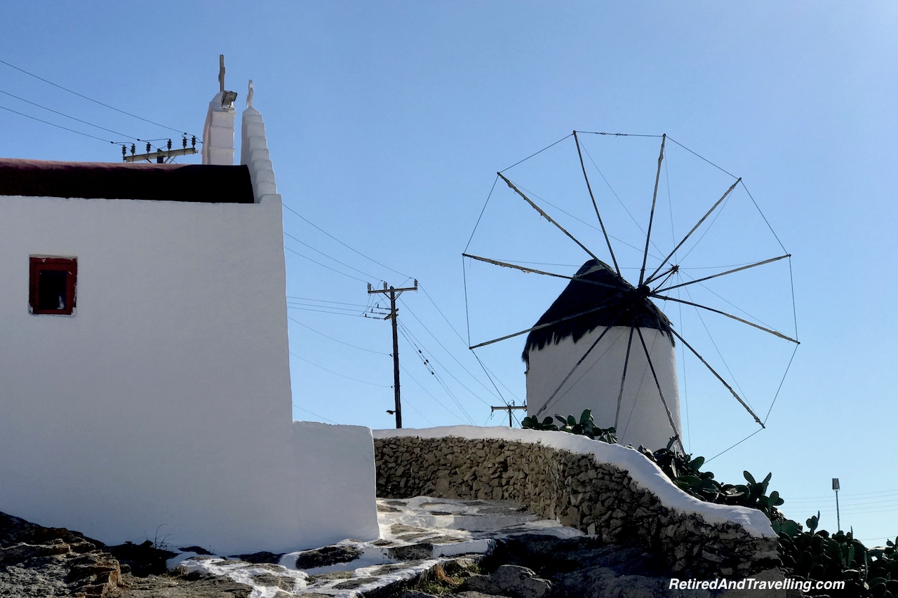 Mykonos Windmill and Church High on the Hill - Iconic Views of Santorini and Mykonos.jpg