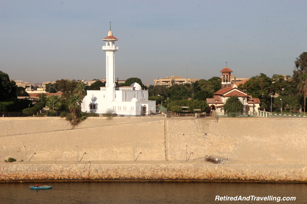 Mosques and Towns on the Banks - Transit Through the Suez Canal.jpg