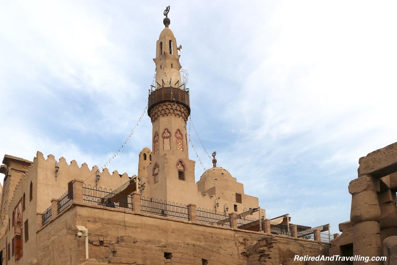 Abu El - Haggag Mosque - Pharaohs At Luxor Temple.jpg