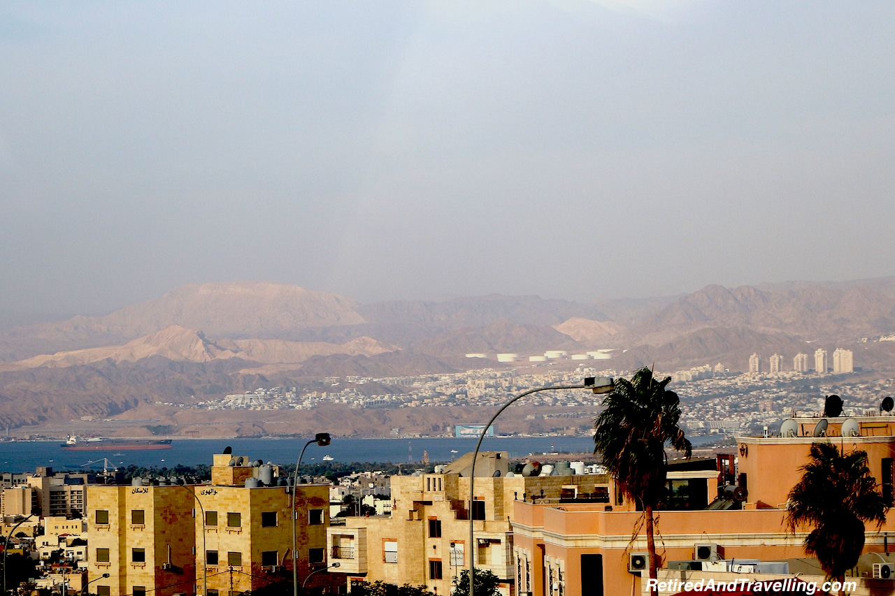 Aqaba Overlooking Eliat Israel - Travel Through Jordon.jpg