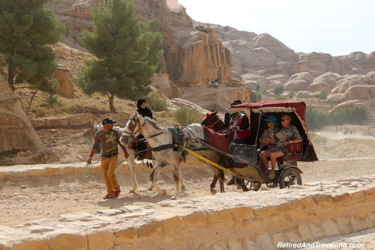 Petra Ruins Carriage Ride - Travel Through Jordon.jpg