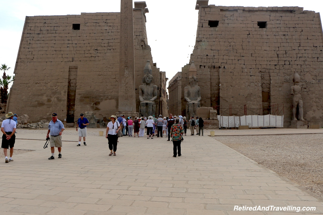 East West Pylons - Pharaohs At Luxor Temple.jpg