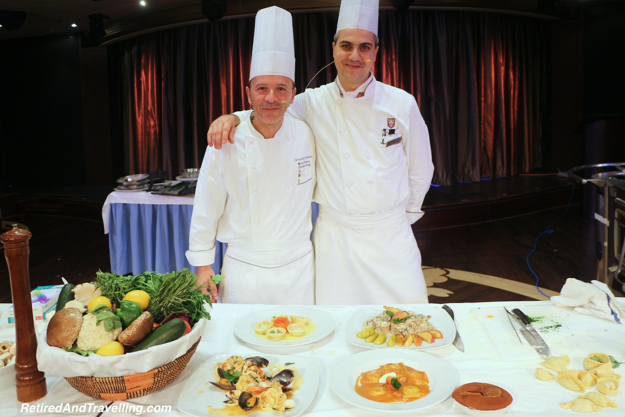 Food on Oceania Cruises - Cooking demonstrations onboard a cruise ship.jpg