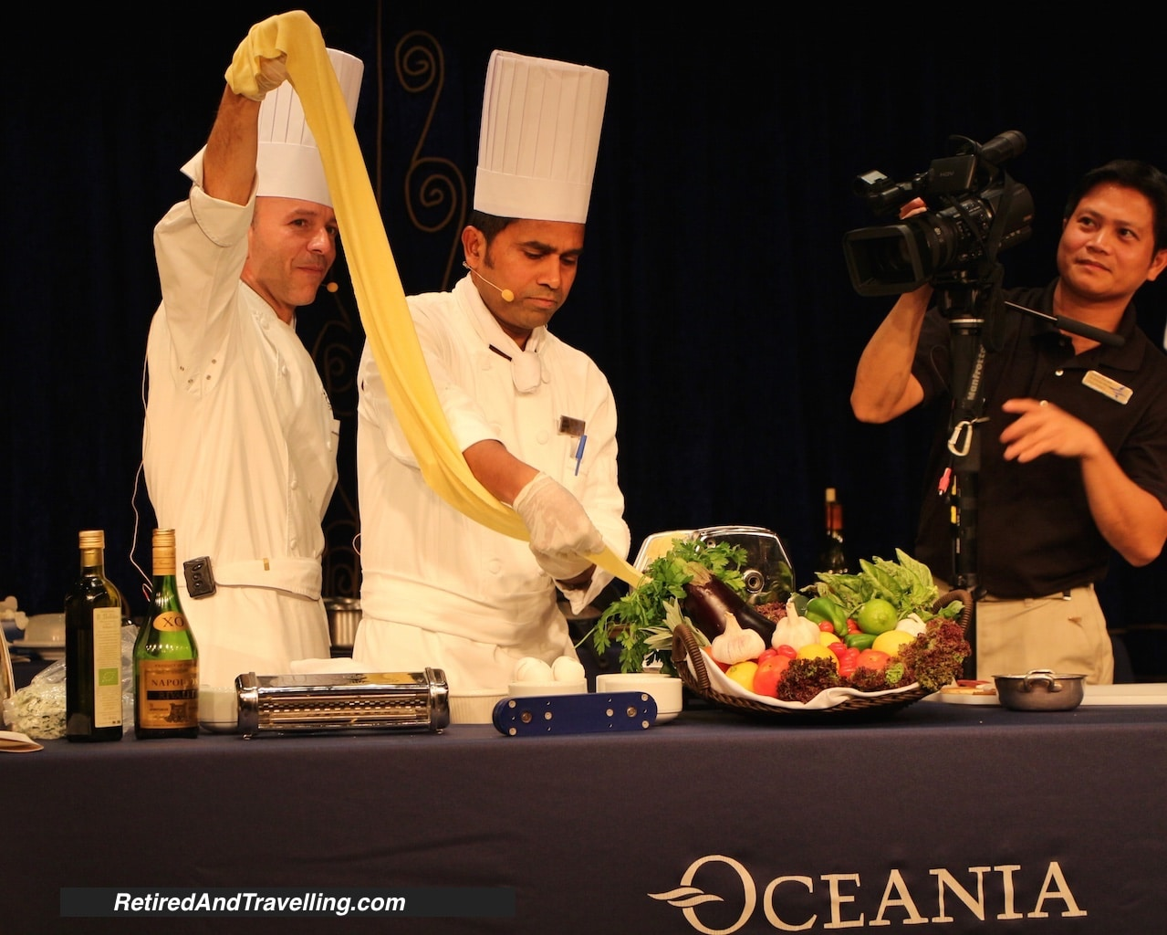 Chefs making pasta - Cooking demonstrations onboard a cruise ship.jpg