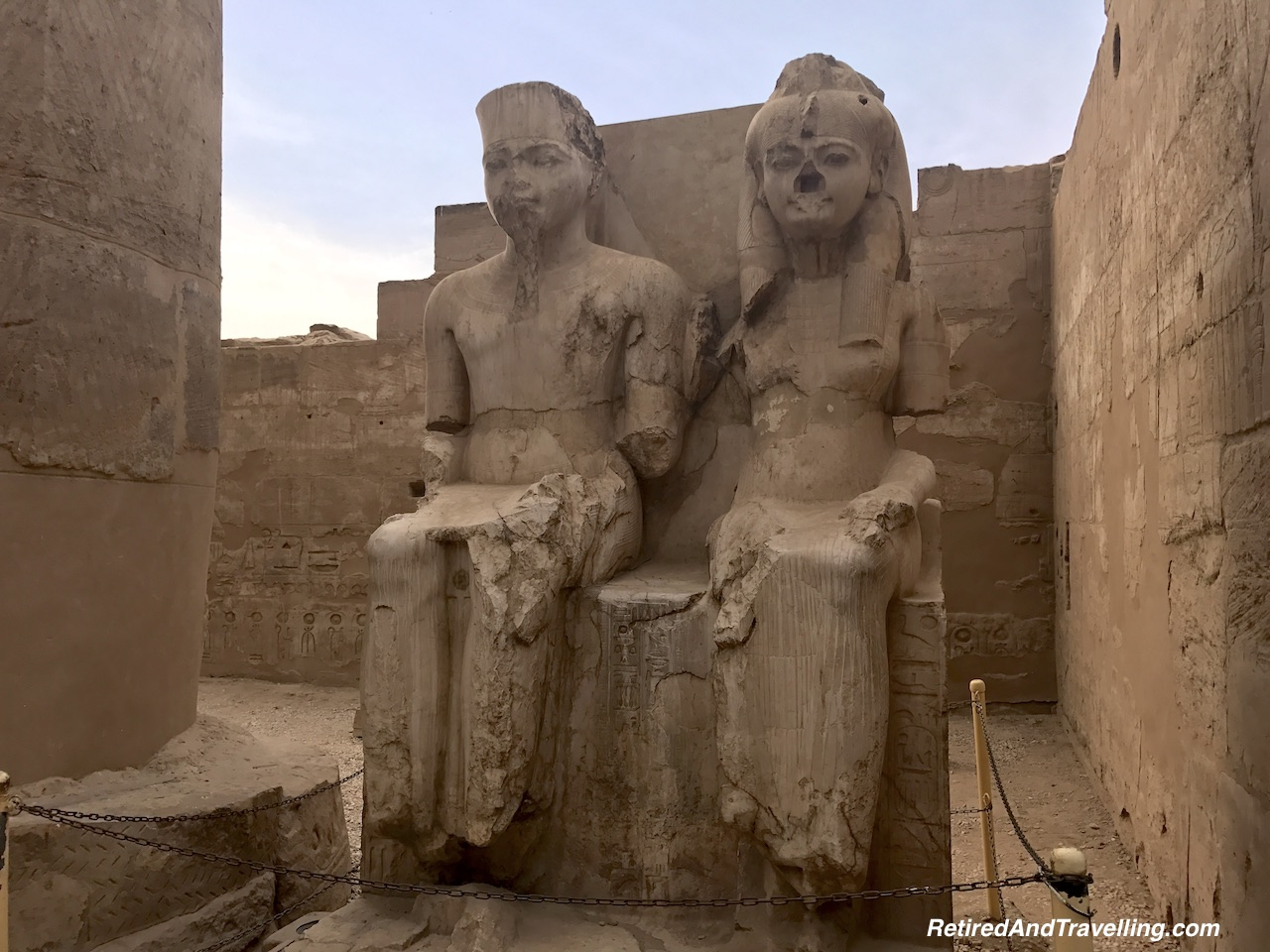 Pharaoh Statues - Pharaohs At Luxor Temple.jpg