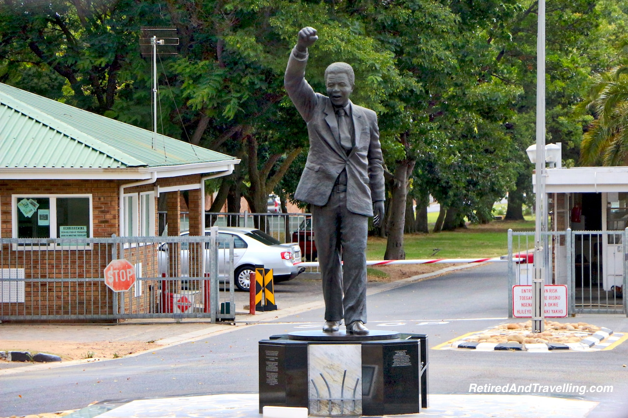 Leaving Drakenstein Prison Nelson Mandela Sculpture - Wine Tour in Stellenbosch.jpg