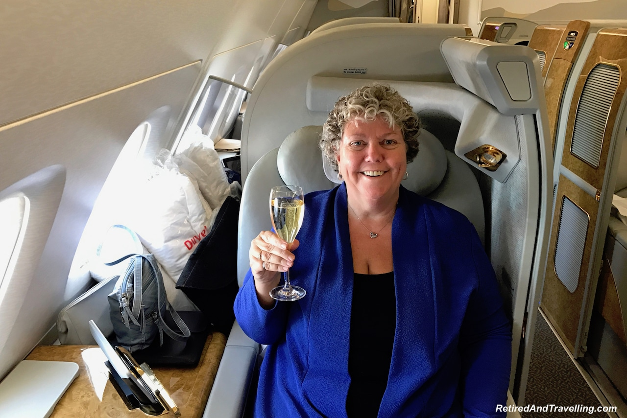 A Toast to First Class with Emirates