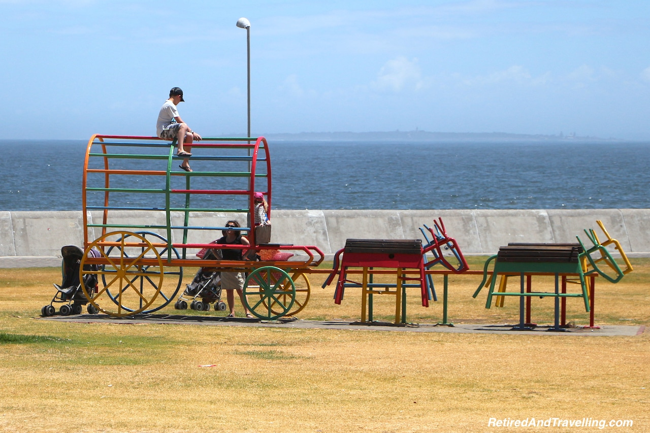 Sea Point Boardwalk Playgrounds - Sea and Mountains Surround Cape Town.jpg