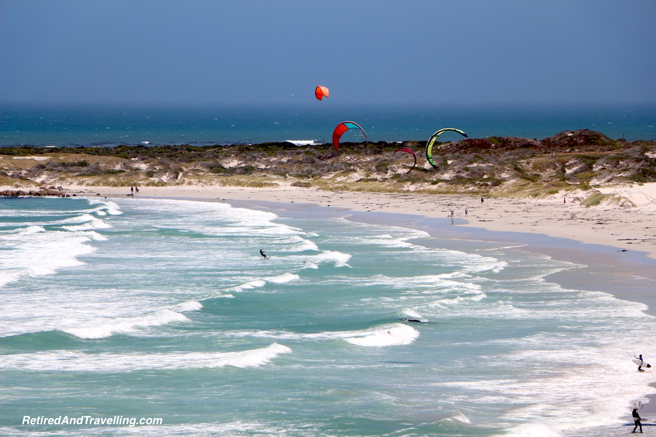 Cape Drive Kite Surfers - Sea and Mountains Surround Cape Town.jpg