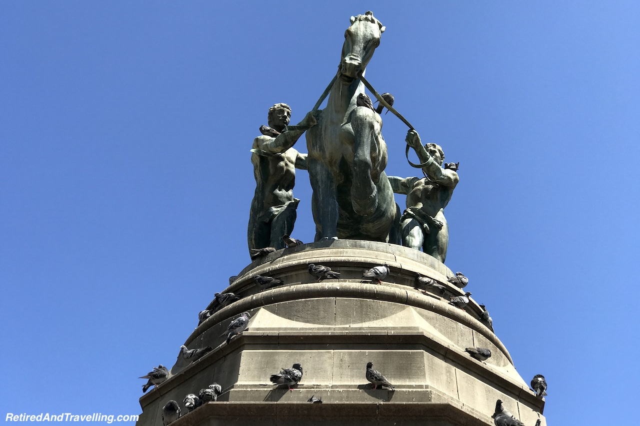 South African Museum Horse Statue in Company's Garden - Quick Tour of Cape Town.jpg