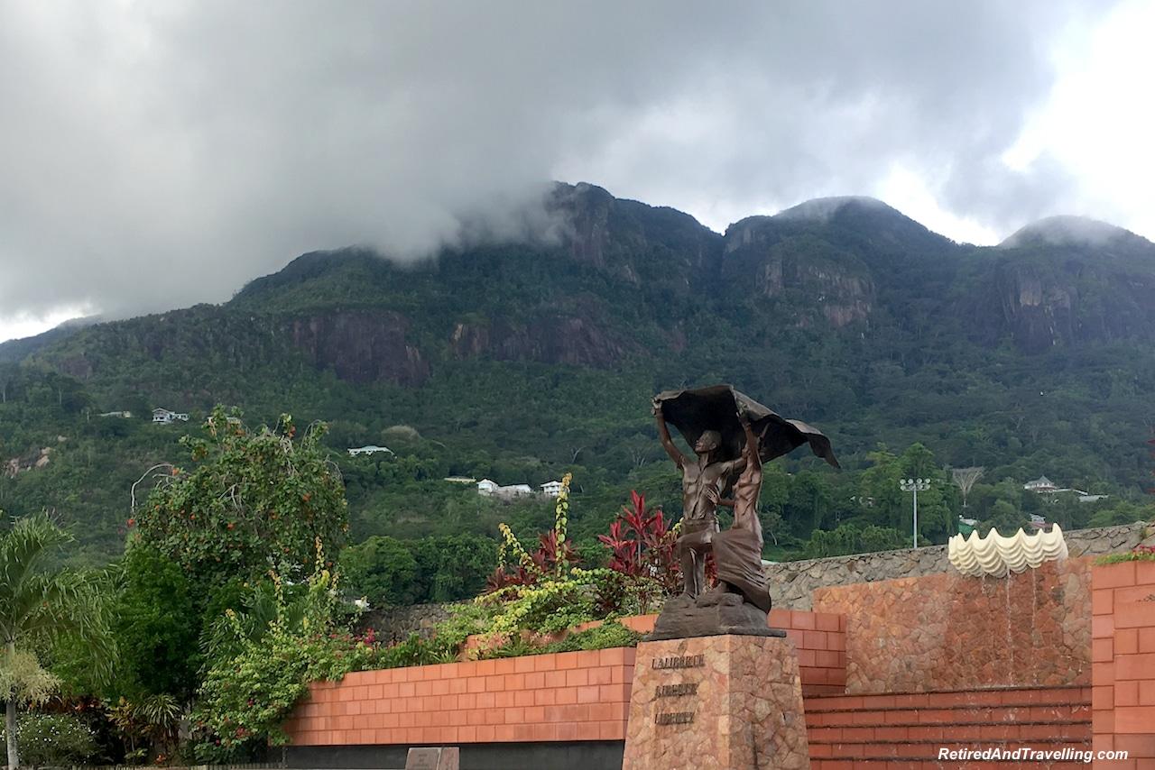 Inogire Statue Victoria Mahe - Taste Test of the Seychelles.jpg