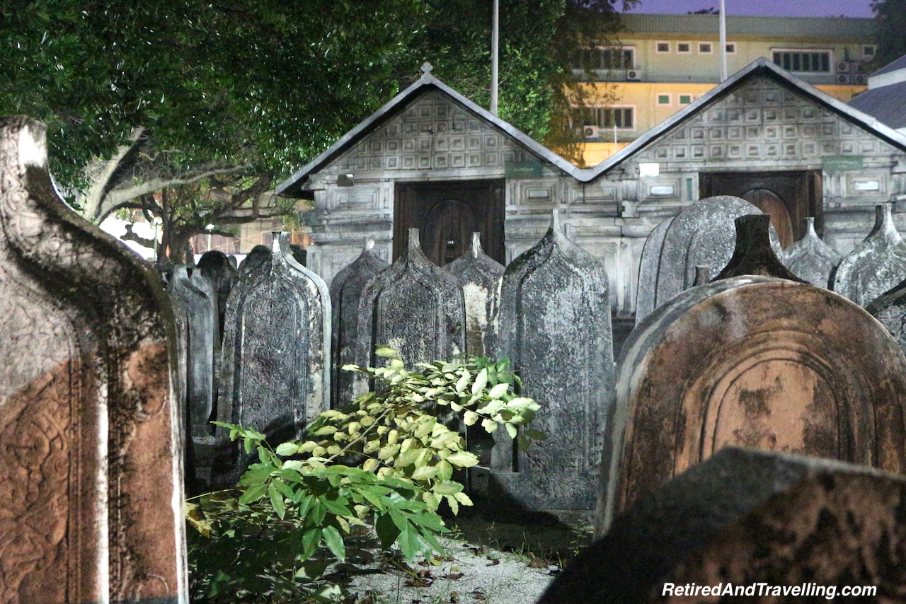 Oldest Mosque Cemetery After Dark - 24 Hours in the Maldives.jpg