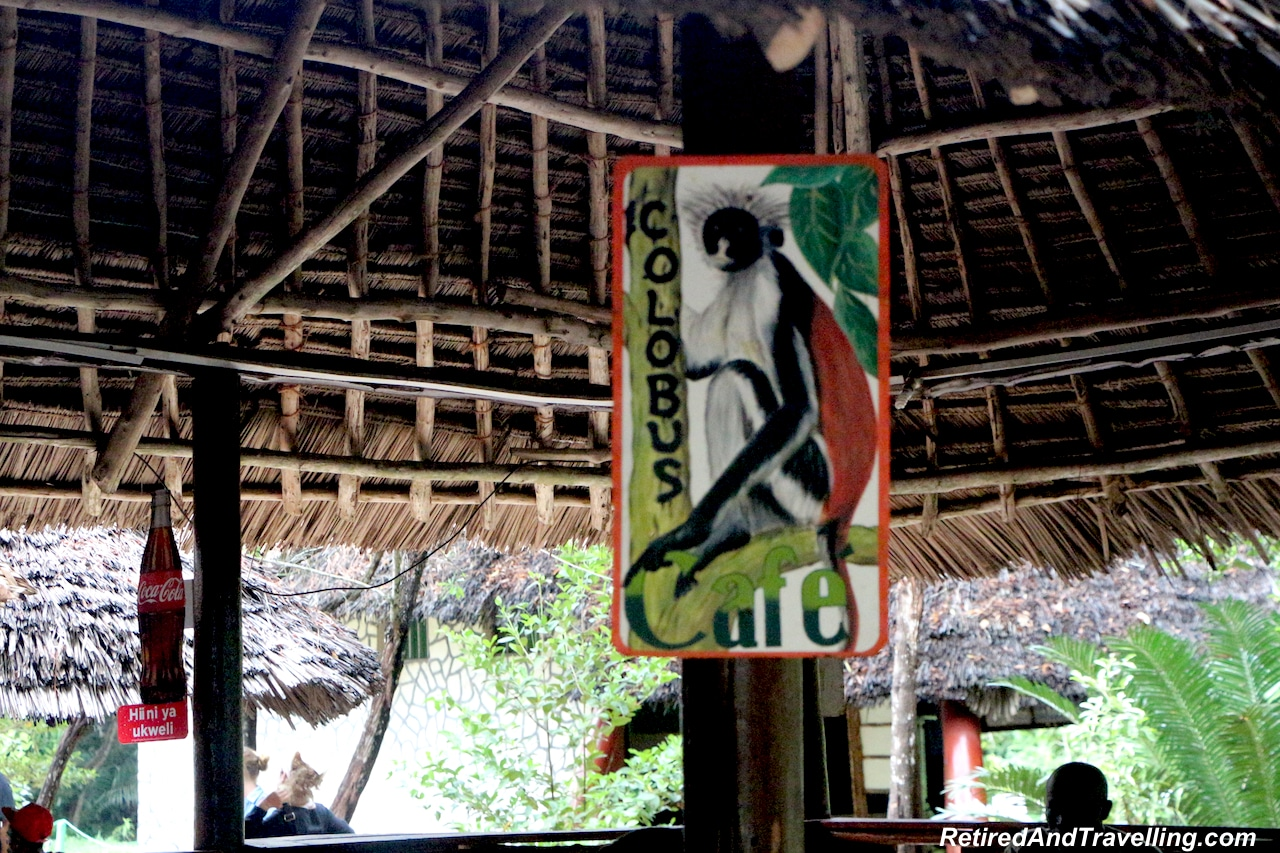 Jozani Forest Colobus Monkey Cafe - Touring Zanzibar In the Rain.jpg