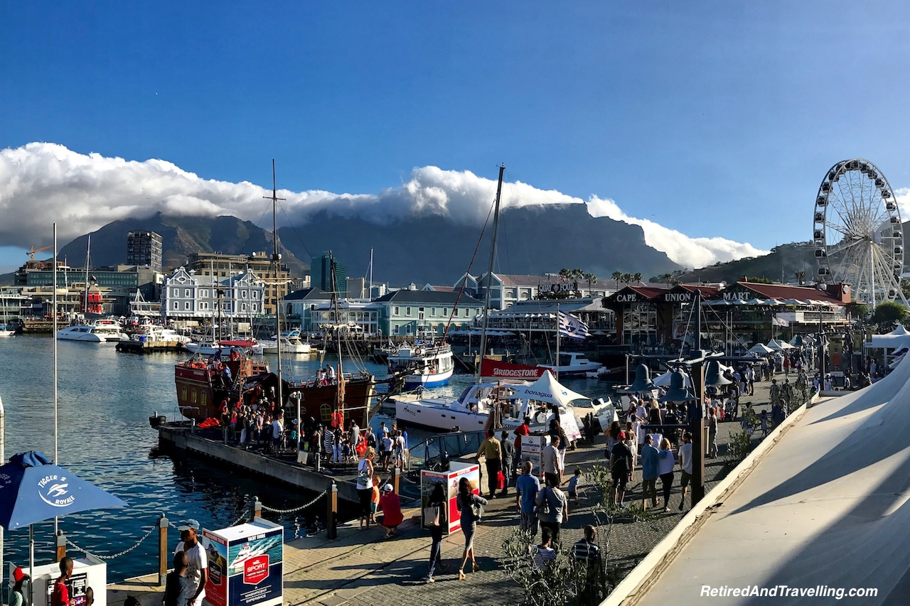 Table Mountain over Cape Town - Sea and Mountains Surround Cape Town.jpg