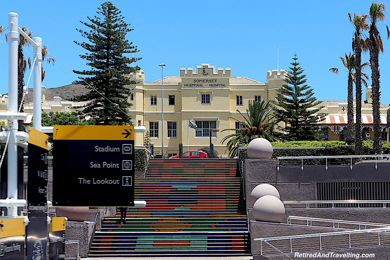 Somerset Hospital Colourful Stairs - Things To Do In Cape Town.jpg