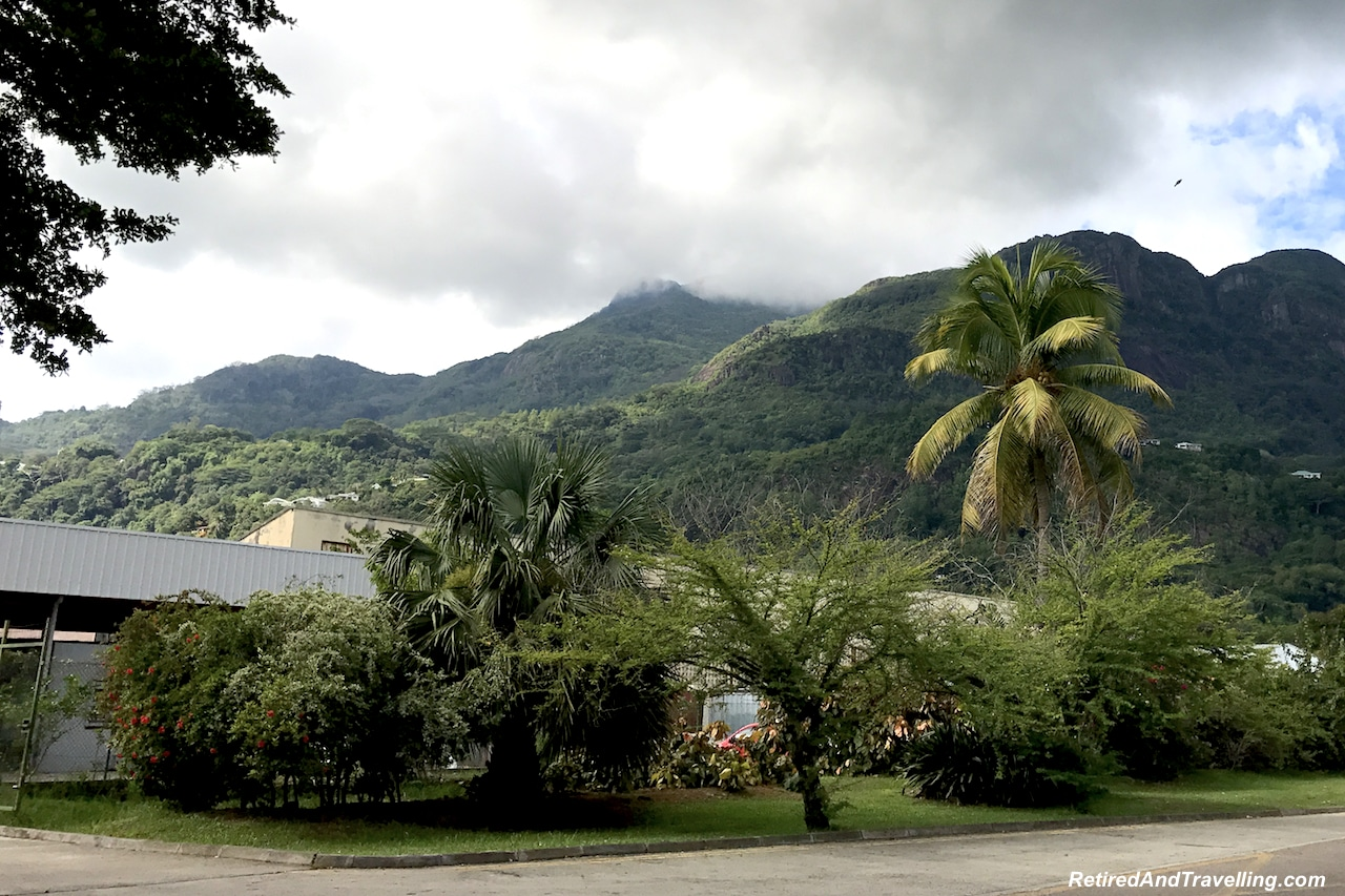Mountains surround Victoria Mahe - Taste Test of the Seychelles.jpg