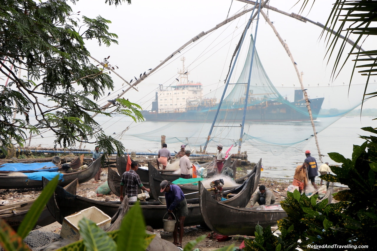 Chinese Fishing Nets - Walking Tour of Cochin India.jpg