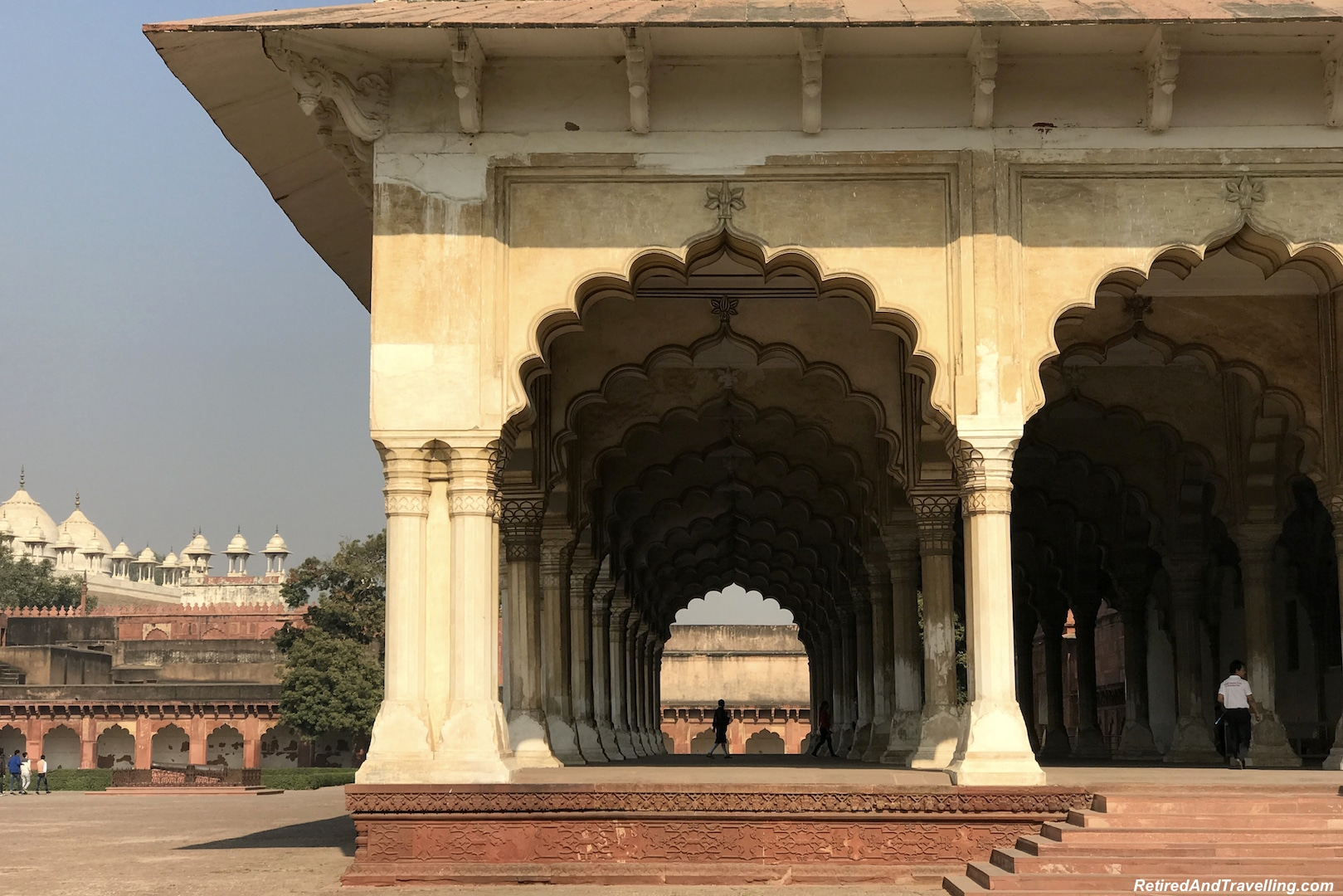 Diwan-I-Am Arches - Red Fort in Agra.jpg
