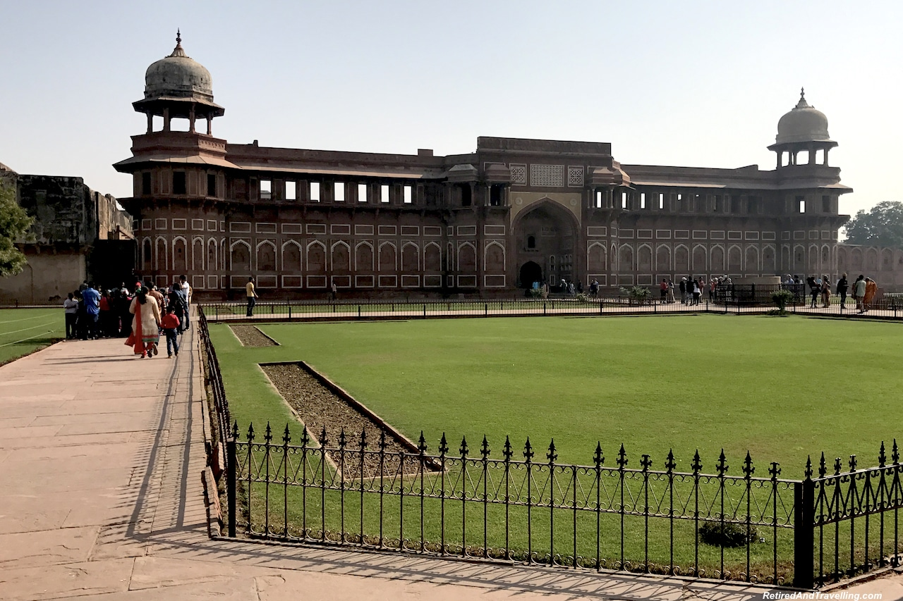 Jahangiri Mahal - Red Fort in Agra.jpg